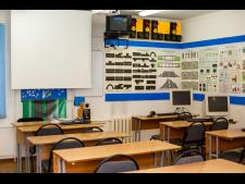 Учебный класс автошколы «Кызыл-Жар»